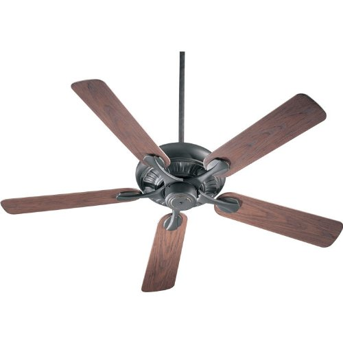 Quorum 191525-95, Pinnacle Patio Old World Energy Star 52'' Outdoor Ceiling Fan by Quorum