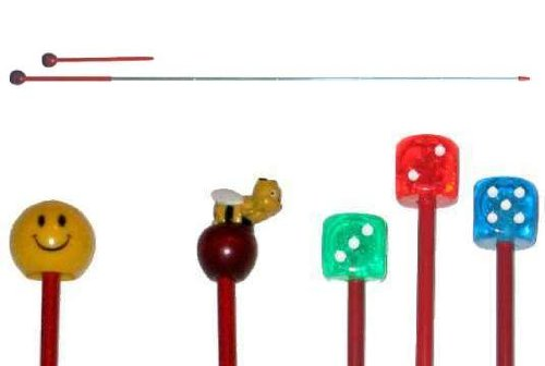 Metal Retractable/Telescoping Red Pointer, extends to approx. 35'', AA-778NO w/pocket clip for Educators/Therapists. by AppleABC Teachers Gifts (Image #2)