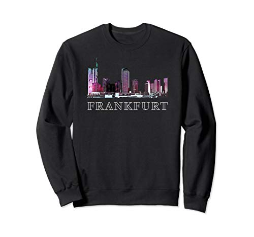 - Frankfurt T-Shirt, Germany Souvenirs. Skyline Architecture A