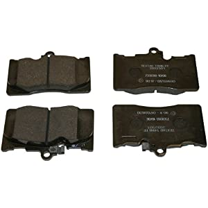 Beck Arnley 089-1801 OE Brake Pad