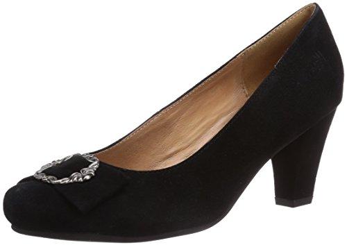 Women's Black Closed 002 Conti by 3009206002 Black Black Pumps Hirschkogel Andrea wqSg1W7xn4