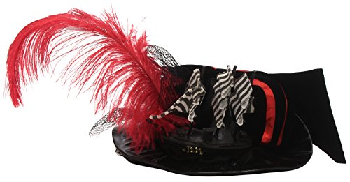 Leg Avenue Women's Deluxe Pirate Hat, Black,