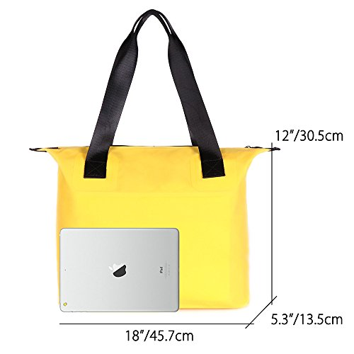 Bag Bag Men Duffle Style Beach Travel Swim Tote Sailing Waterproof and Cycling PVC Women 30L Dry Green Zipper Bag Tote Bag Sports 500D 8 for Gym Watertiper Colours Holdall Kayaking wTwXtqO0
