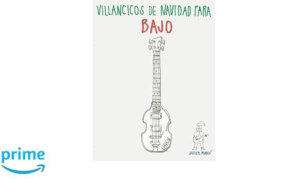 Villancicos de Navidad para Bajo: Canciones en Partitura & Tablatura ...