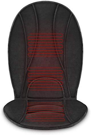 COMFIER 온열 자동차 시트 쿠션 - 자동 꺼짐 기능이 있는 빠른 히팅 패드 3개 조절 가능한 2개의 열 레벨 자동차 시트 워머 시트 히터 12V 범용 핏 히팅 자동차 시트 커버 / COMFIER 온열 자동차 시트 쿠션 - 자동 꺼짐 기능이 있는 빠른 히팅 패드 ...