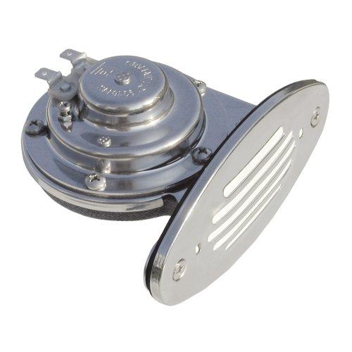 Ongaro Horn Mini - SCHMITT & ONGARO MARINE Ongaro Mini Single Drop-In Horn w/SS Grill - High Pitch / 10051 /