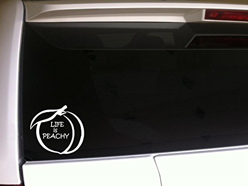 georgia peach decal - 5