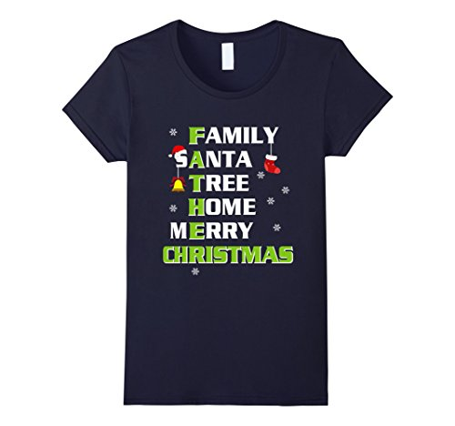 Son And Father Costumes (Womens Christmas Shirt For Father. Costume From Daughter/Son. XL Navy)