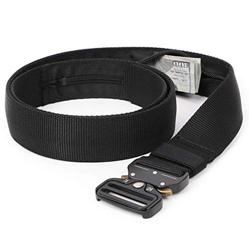 Whippy Tactical Military Webbing Nylon Belt for Men,Quick-Release Heavy Duty Web Men Belts in Metal Buckle