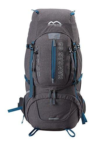MONTIS KANSAS 65, Trekking Rucksack, 65+L, 75x40, 1800g