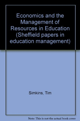 Economics and the Management of Resources in Education