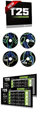 T25 GAMMA DVDS ONLY by Beachbody