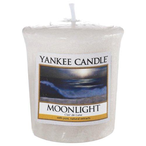 Yankee Candle 1507666E Claire de Lune Bougie Votive Combinaison Blanc B0179NCG16