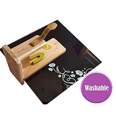 MDT India Table Top Teak Wooden Coconut Scraper Grater Shredder Movable Chirava Place Anywhere 11
