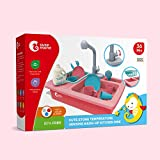 CUTE STONE Color Changing Play Kitchen Sink