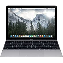 Apple MacBook MJY32LL/A 12-Inch Laptop with Retina Display, Space Gray, 256 GB (Refurbished)