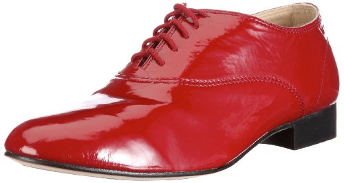 BL592 donna Bloch basse Rot stringate Trot Fox Scarpe Rbn Rosso g7YqwTEY