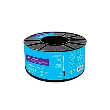 HDSAT Cable Coaxial 17 Patc/PH/A - Triple apantallamiento Bobina ...