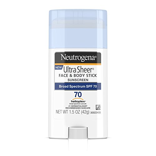 Neutrogena Ultra Sheer Non-Greasy Sunscreen Stick for Face &