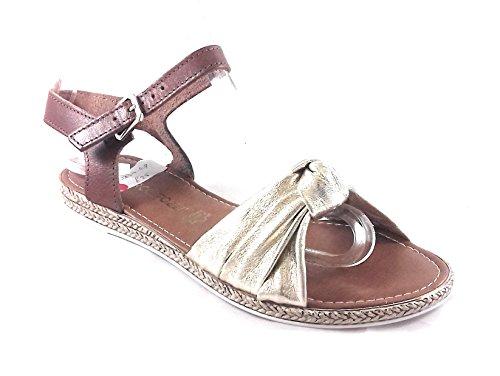 Sandales Avec Sangle Gris Marco Tozzi aY9bY