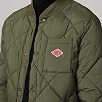 5fc2cd75e Escalier Men's Quilted Diamond Bomber Jacket Warm Padded Puffer ...