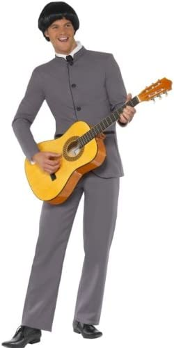 60s -70s  Men's Costumes : Hippie, Disco, Beatles Smiffys Fab Four Iconic Costume £20.07 AT vintagedancer.com