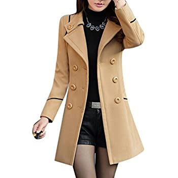 Amazon.com: Youtobin Women's New Winter Dress-Coats Slim