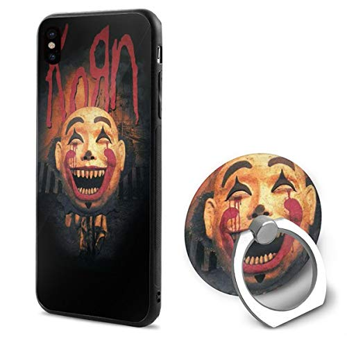 77d8308026e LemonationFF Korn Cell Phone Case for iPhone X with Ring Bracket White  Background