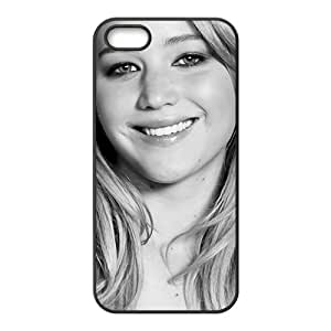Smiling lovely girl Cell Phone Case for iPhone 5S