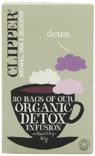 - Clipper Teas - Organic Detox Infusion - 20 Bags (Case of 6)