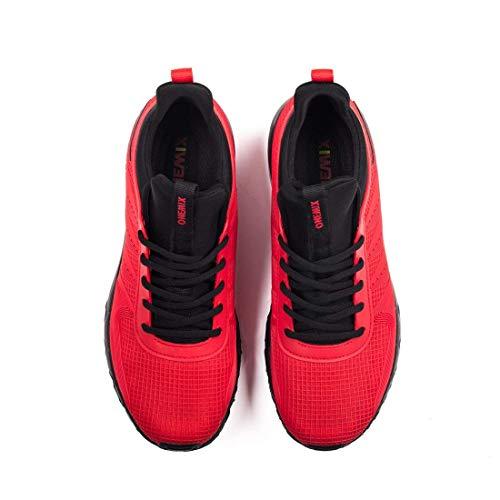 Da Corsa Onemix Sneaker Rosso Sport Scarpe Air Basse Uomo Running Sportive HqttIOw