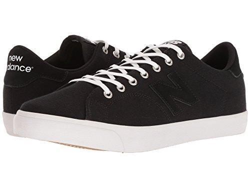 [new balance(ニューバランス)] メンズランニングシューズ?スニーカー?靴 AM210 Black/White Canvas 6 (24cm) D - Medium