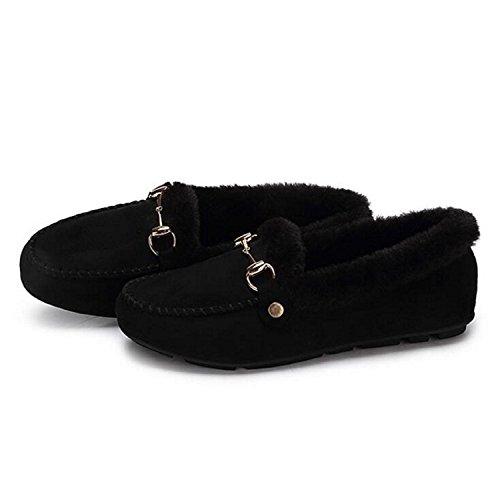Bateau Noir Mocassin Chaussures Mocassins Pour Femme Occasionnels zqSnqwa06T