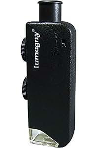 lumagny funda Microscopio 60X–100x Ampliación