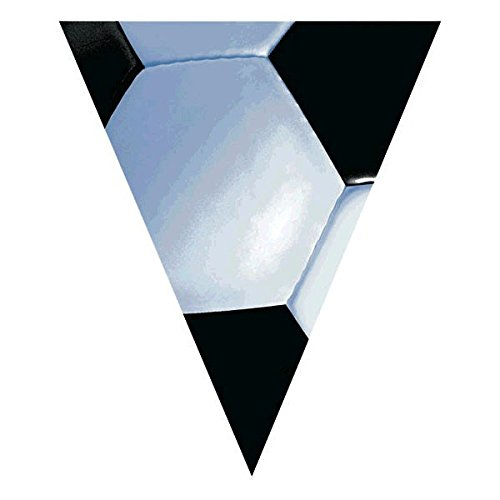 Soccer Plastic Pennant Banner, Party -