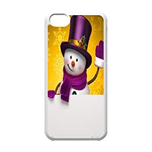 Christmas Snowman Customized Case for Iphone 5C, New Printed Christmas Snowman Case wangjiang maoyi