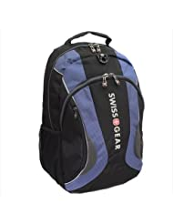 Swiss Gear Mercury Notebook Backpack Fits LCD Screens up to 16 inches Black/Blue NWT