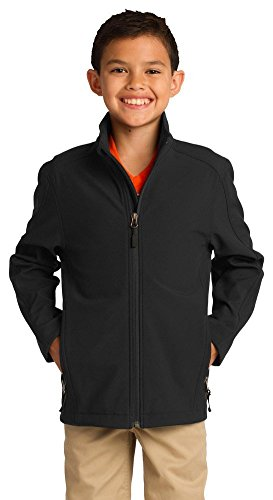 port-authority-youth-core-soft-shell-jacket-black-y317-xs