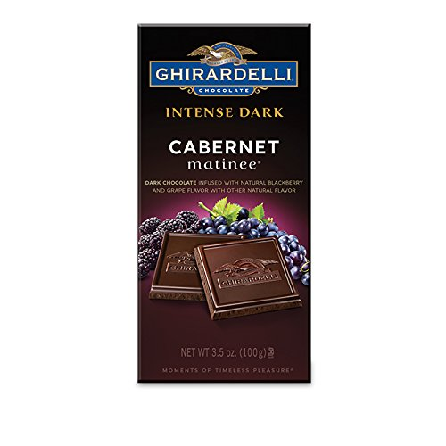(Ghirardelli Dark Chocolate Cabernet Bar, 3.5 oz.)