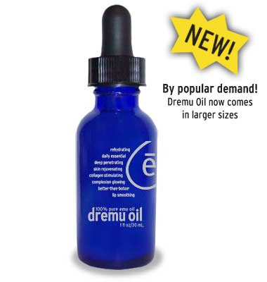 Dremu Oil Serum 2 oz. The Only Triple Refined Emu Oil - Beware of Imitations (2 Oz) by Dremu