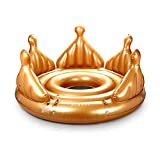 FUNBOY Inflatable Royal Crown Island Pool Float