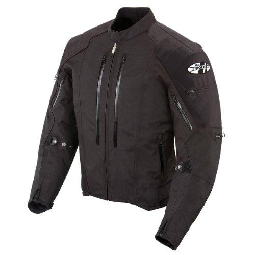 Joe Rocket Atomic 4.0 Men's Riding Jacket (Black, XX-Large)