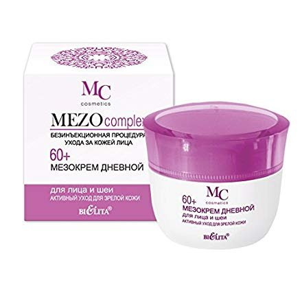 Saturated Day Cream (MEZO) is specially designed for the care of mature skin of the face | Hyaluronic acid, Vitamin E, Peach seed oil & much more | anti-aging & wrinkle 50 ml.