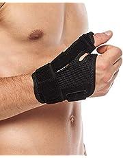 Tumme splint stöd av BraceUP Höger Vänster Hand Kvinnor och Män - Spica Splint, CMC Tumstöd med Tumstöd, för Artrit, Seninflammation, Karpaltunnel smärtlindring och Tumme Sprain