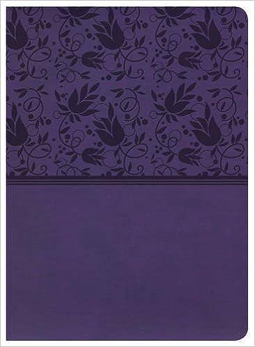 KJV Study Bible, Purple LeatherTouch: Holman Bible Staff