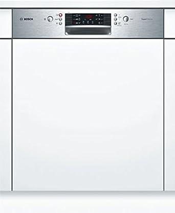 Lave vaisselle encastrable Bosch SMI46IS03E - Lave vaisselle integrable 60 cm - Classe A++ / 44 decibels - 13 couverts - Intégrable bandeau : Inox