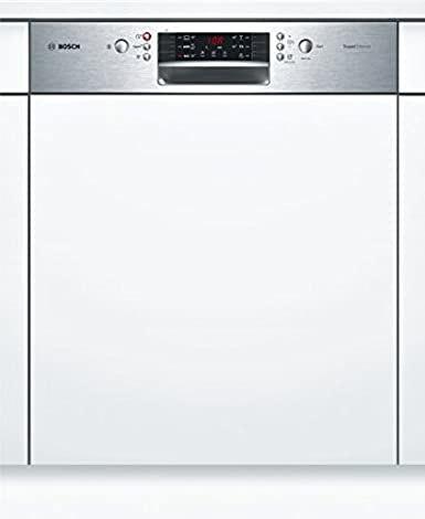 Lave Vaisselle Encastrable Bosch Smi46is03e Lave Vaisselle Integrable 60 Cm Classe A 44 Decibels 13 Couverts Integrable Bandeau Inox Amazon Fr Gros Electromenager