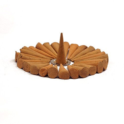 Ikshvaku Sandalwood Incense Cones - One Boxes (Height Sandalwood)