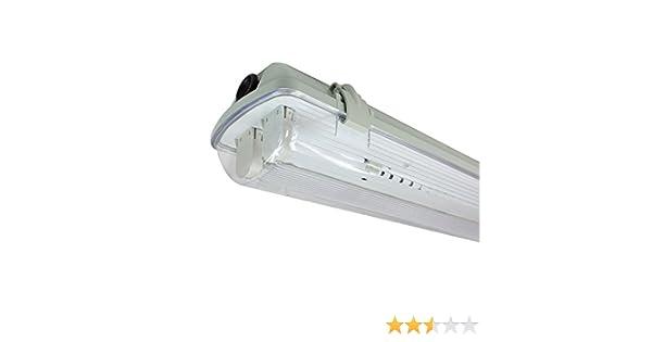 Pantalla Estanca para dos Tubos de LED T8 1200mm - Ledovet: Amazon.es: Juguetes y juegos