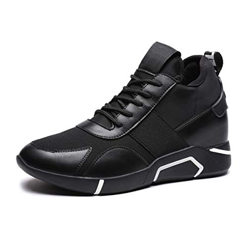 (Baronero Women's Winter Slip-Resistant Work Shoes Casual Shoes for Women Outdoor Hiking Shoes Black 01 US 7)
